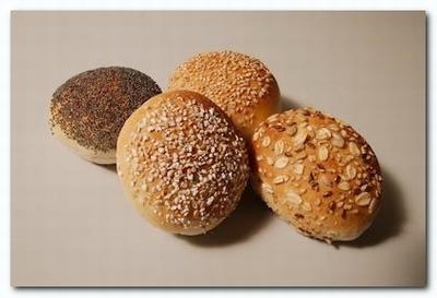 2301 Gesorteerde zachte broodjes