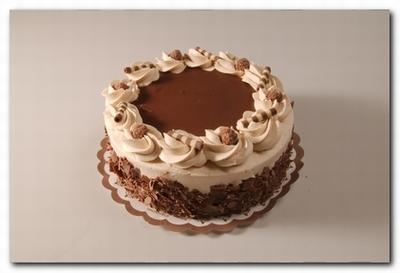 4533 Chocoladetaart middel